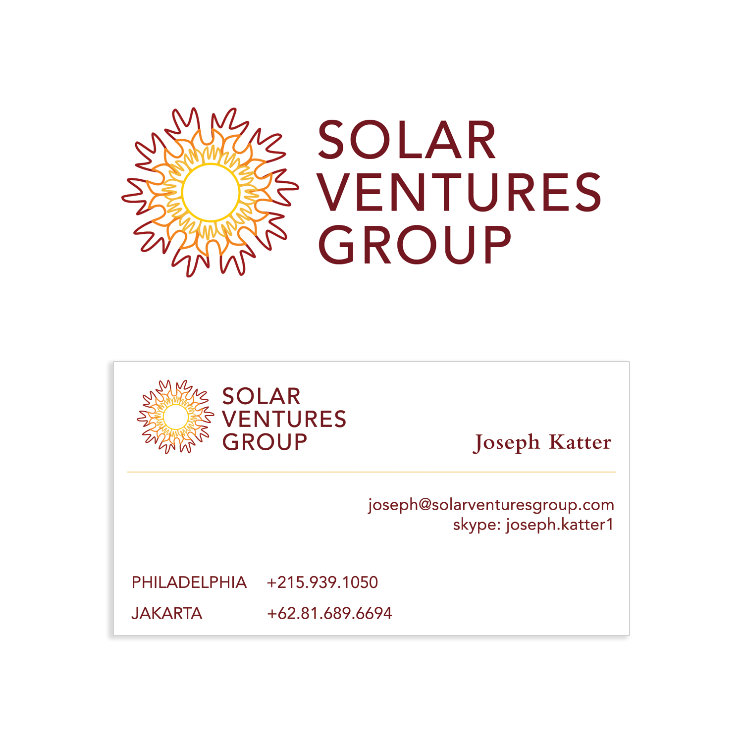 Solar Ventures Group Logo