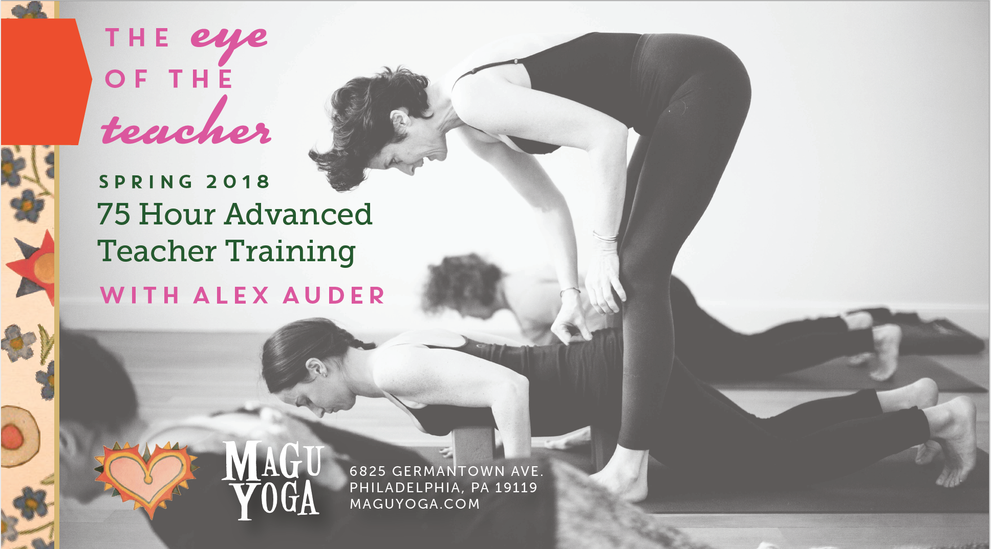 Magu Yoga Teacher Training Postcard