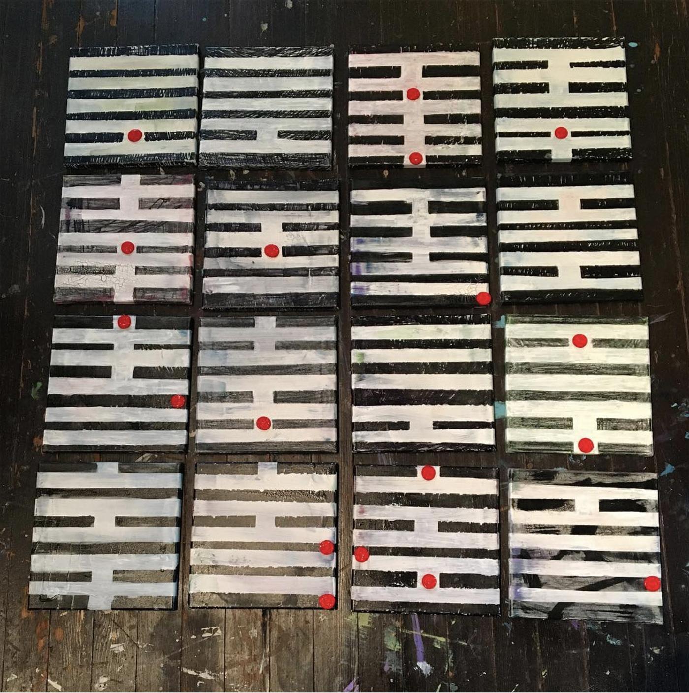 I Ching grid
