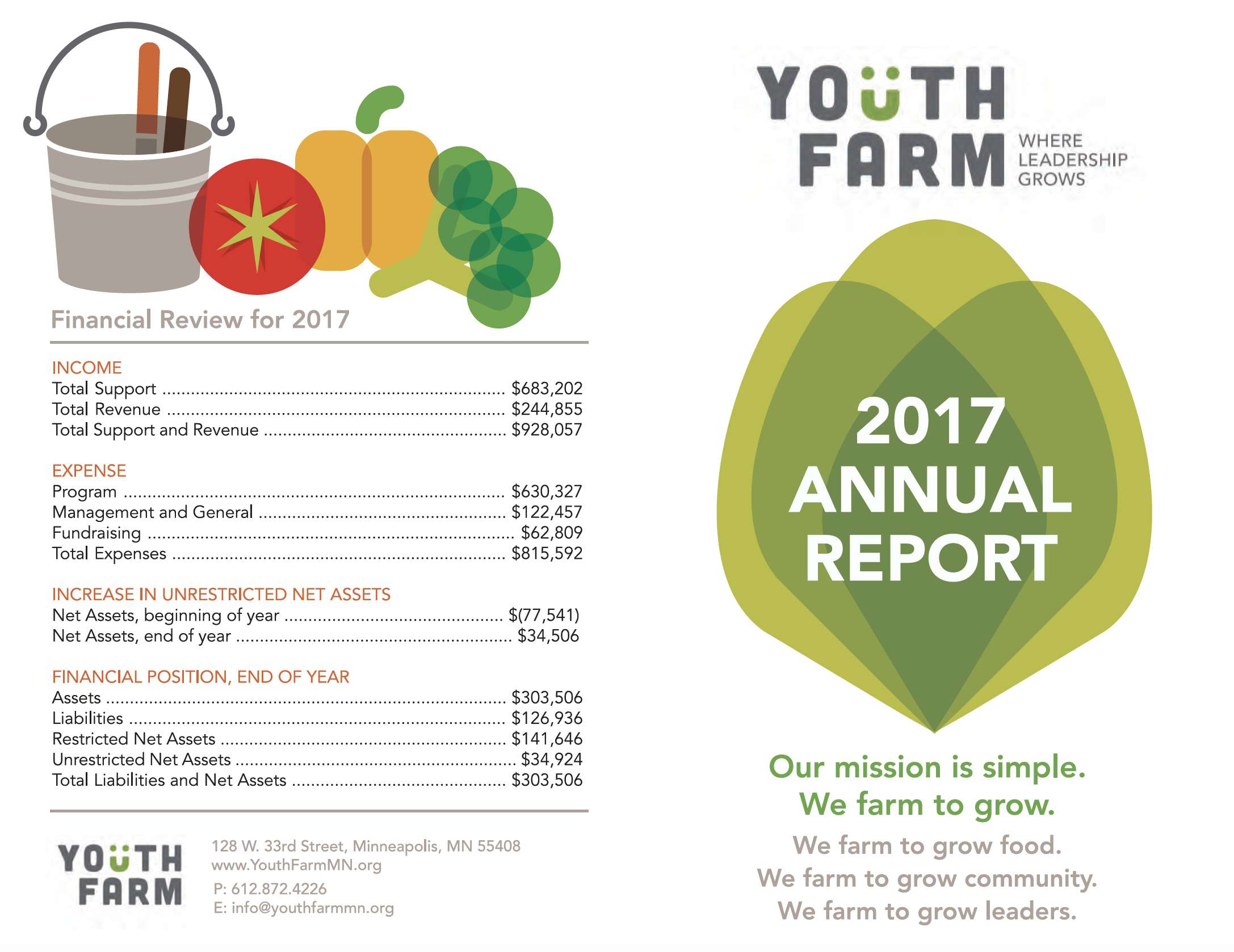 Youth Farm Annual Report 2017