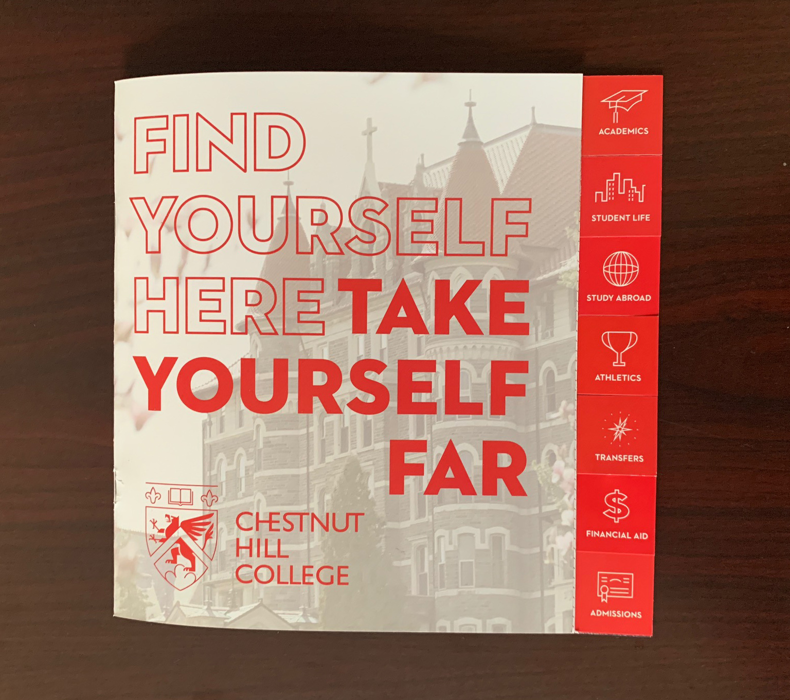 Chestnut Hill College Travel Viewbook